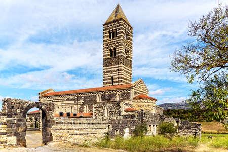 Catholic church Santissima Trinit di Saccargia Sardinia