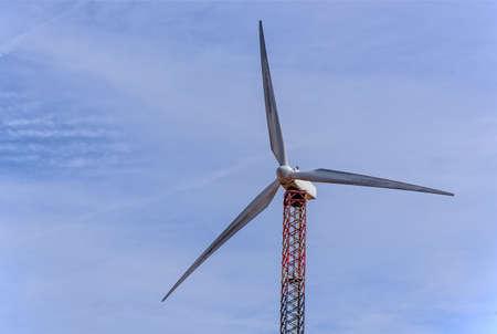 Mast windmill Wind energy Sardinia