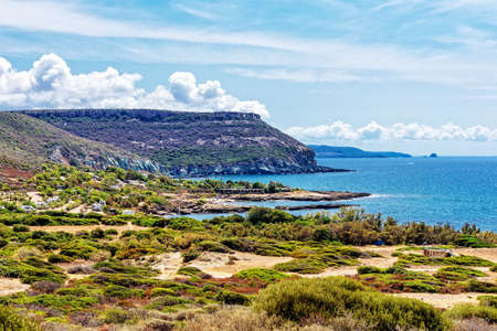 Campsite Mediterranean coast Sardinia
