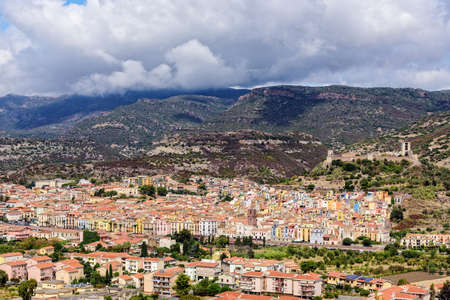 Castello Malaspin Bosa town Sardinia