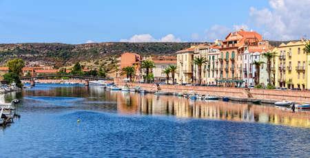Temo Bosa city bridge Sardinia