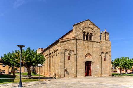 Basilica San Simplicio Olbia Piazza San Simlicio Sardines