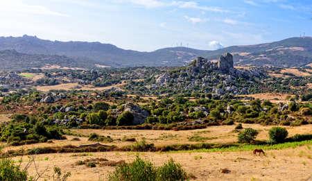 Landscape Sardinia rocks mountains
