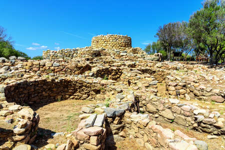 Nuraghe la Prisgiona hill sardines archeology