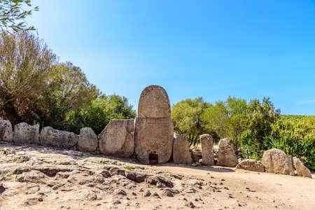 Tomba di Giganti Coddu Vecchiu Hen's grape sardines