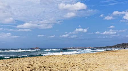 Spiaggia Li Junchi Badesi beach Mediterranean