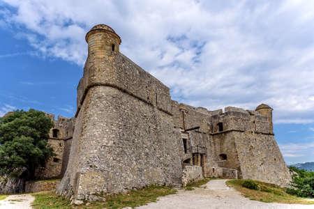 Fort de Mont Alban fortress Esterel massif Nice