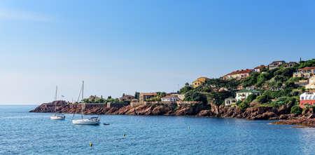 Coast Cote d'Azur Mediterranean yacht