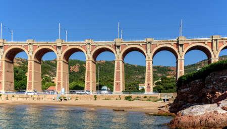 Viaduc Antheor railway bridge architecture
