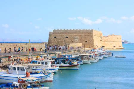 Fort Heraklion in Crete Banco de Imagens - 95174083