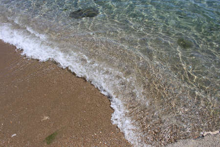 Clear water at the beach