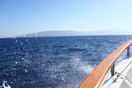 Splashy boat tour