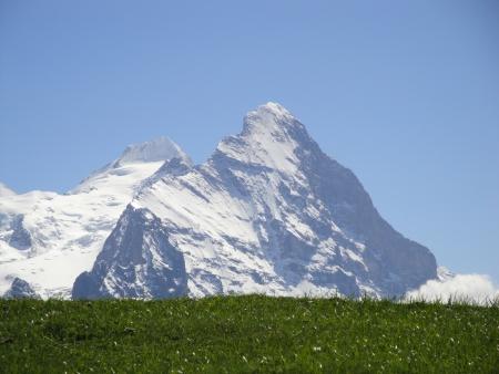 Mountains in Switzerland Stock Photo - 17471153
