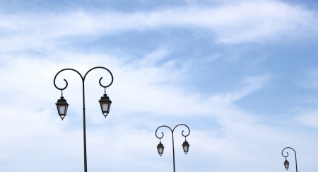 Stony drive Lanterns