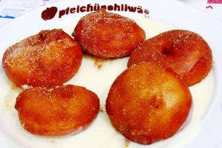 bign�: frittelle di mele