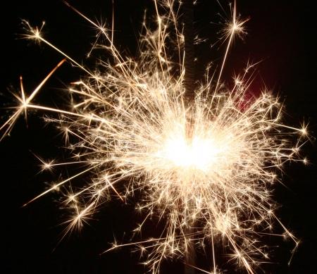 Sparklers spell