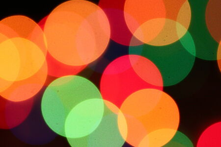 Colorful light dots