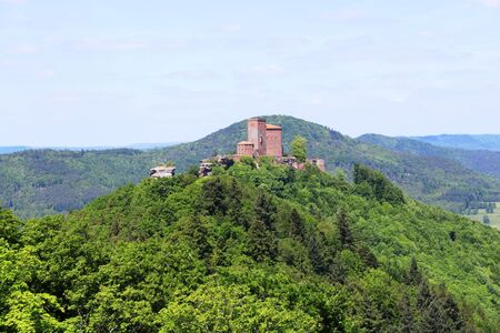 Trifels in the Palatinate Stock Photo