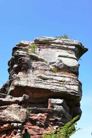 Sandstone rock Stock Photo