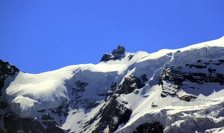 jungfraujoch: Jungfraujoch Stock Photo