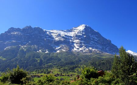 eiger: The Eiger in Grindelwald