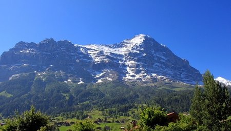 The Eiger in Grindelwald photo