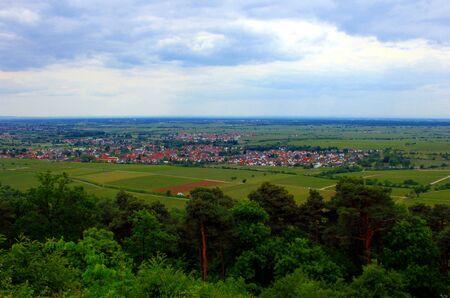 rift: View of the Rhine Rift
