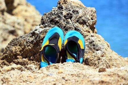 swim shoes: swim shoes Stock Photo