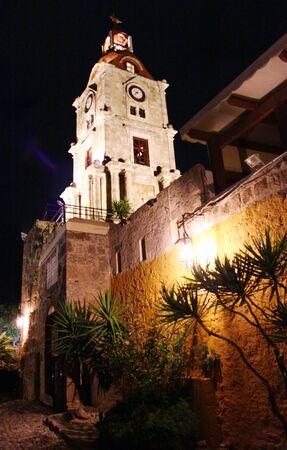 rhodes: Rhodes at night