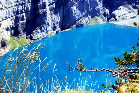 mountain lake: Blue Mountain Lake