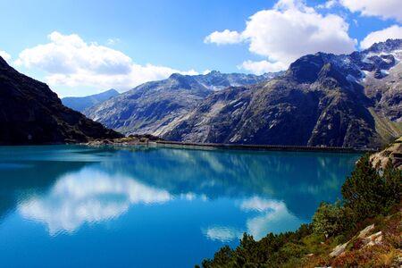 Blue Mountain Lake Stockfoto