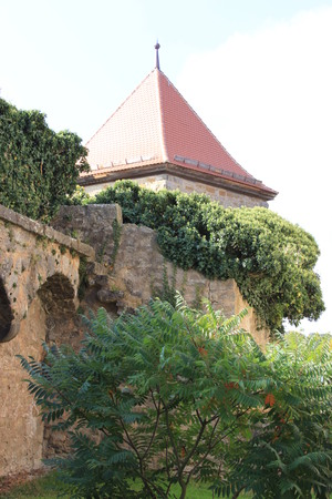 rapunzel: medieval architecture in Rothenburg ob der Tauber