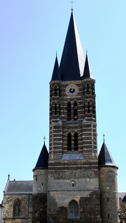 church steeple: Church Steeple Stock Photo