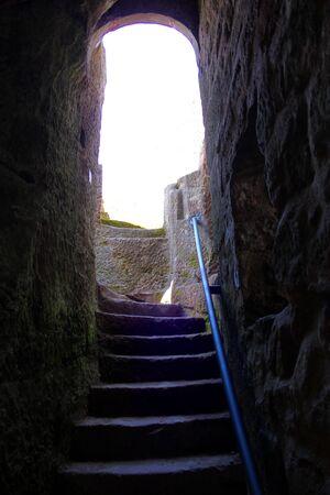 passage: Passage on the rocks