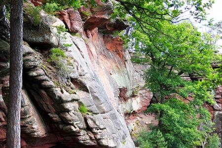 sandstone: sandstone rocks Stock Photo