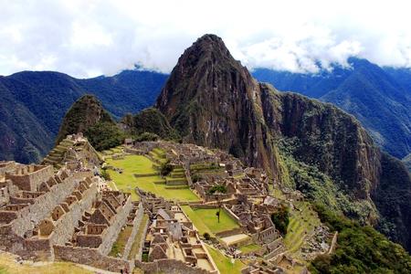 Inca ruin Machu Picchu