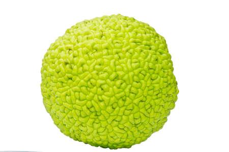 hedgeapple: Whole fruit of Maclura Pomifera
