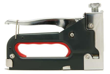 staple gun isolated over white