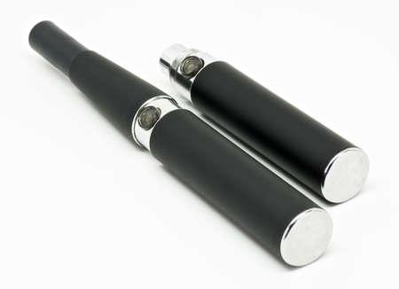 Black electronic cigarette (e-cigarette)