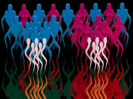 The Genesis of human, from the sperm to men and women