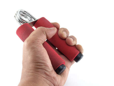 hand gripper: spring grip, hand exercise