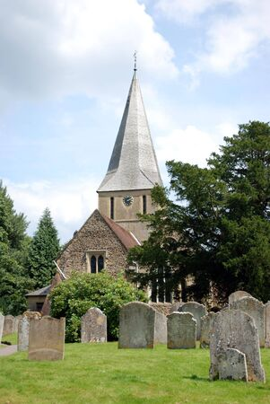 shere: Shere Church in Surrey, England