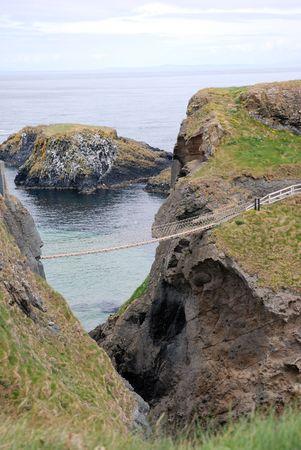 Irish Coast Rope Bridge photo