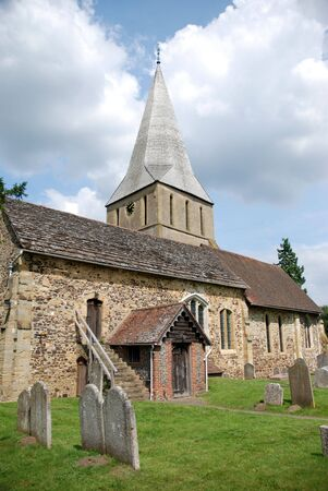 shere: Shere Church, Surrey Stock Photo