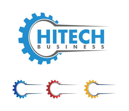 Vector logo design for automotive business, technical industry, car maintenance, smart idea engine, machinery, camera photography and electricity power