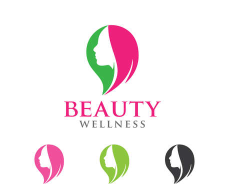 Design illustration is perfectly suitable for beauty women wellness, beauty salon, yoga class, cosmetic makeup and everything related