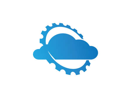 Online cloud storage vector design for web icon, application icon, icons, brand identity and more.