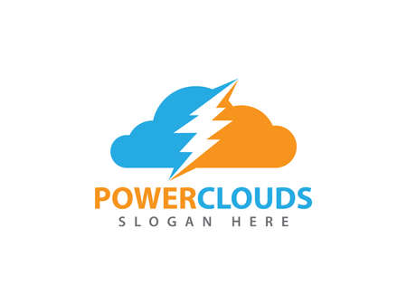 Online strong powerful cloud storage vector design for web icon, application icon, icons, brand identity and more.