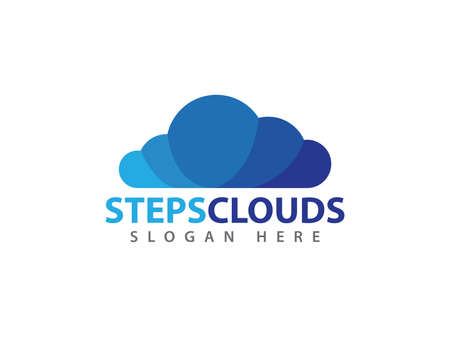 Online cloud storage vector icon design for web icon, application, icons, brand identity and more. Illustration