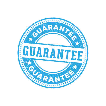 guarantee stamp sign label marker vector design ready print for e-commerce, online shop and more